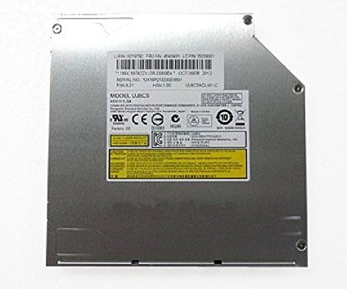 gotor® UJ8C5 UJ875A Internal SATA Slot Load DVD RW RAM Burner Drive for Notebook Laptop PC Test
