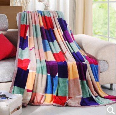 BDUK Frettchen weichen, fusselfreien Computer Office warme Decke im Frühjahr und Herbst Decken Schüler doppel Decken von Sen), 1,5*2 M Ll Bean Schal