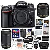 Best Nikon Batteries For Flashes - Nikon D7200 Digital SLR Camera with 18-55mm VR Review