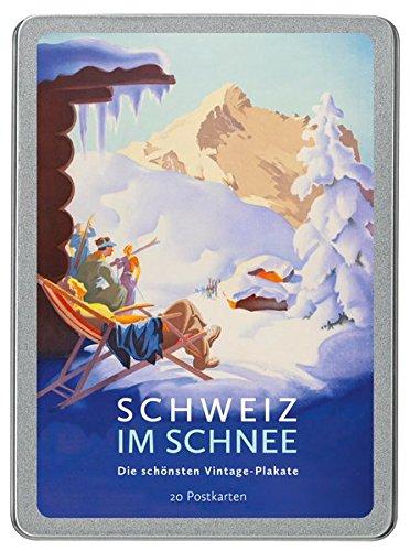 Schweiz im Schnee: Die schönsten Vintage-Plakate