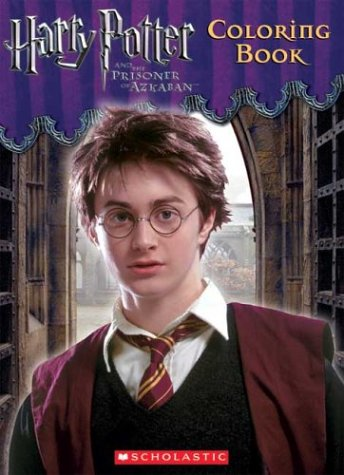 Click for larger image of Harry Potter and the Prisoner of Azkaban Coloring Book