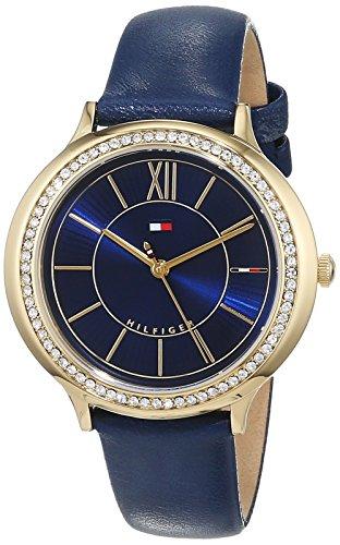 Tommy Hilfiger Reloj Análogo clásico para Mujer de Cuarzo con Correa en Cuero 1781852