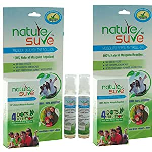 Nature Sure Herbal Mosquito Repellent Roll On (Pack Of 2)