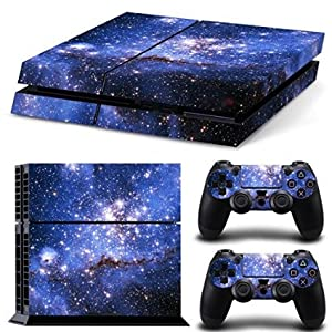 Linyuan Stabile Qualität 0224* Skin Sticker Vinyl Decal Cover fur PlayStation 4 PS4 Console+Controllers
