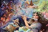 Poster 'Enchanted Flute', von Josephine Wall, Größe: 91 x 61 cm