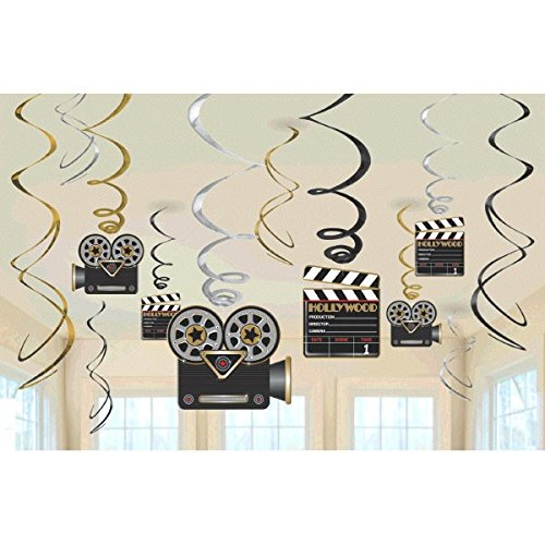 AMSCAN - Decorazioni stile Hollywood
