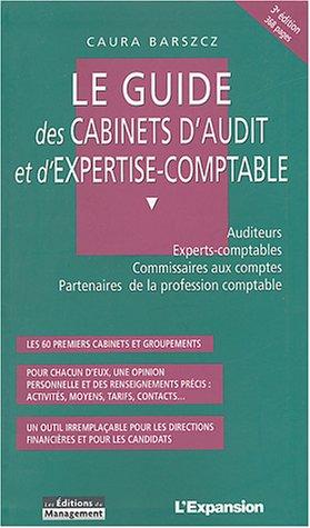 Guide des cabinets d'audit et d'expertise comptable