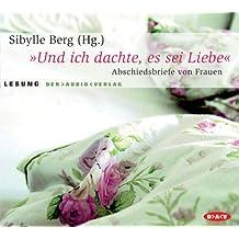 """""""Und ich dachte, es sei Liebe"""": Abschiedsbriefe von Frauen. Lesung"""