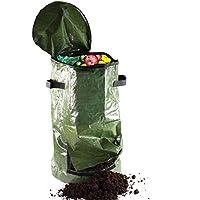 Compostador–Cubo de cocina para restos–verde, mediano, 59cm