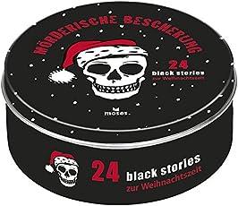 Moses Black Stories Mörderische Bescherung   24 rabenschwarze Rätsel zur Weihnachtszeit   Adventskalender