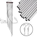 Windspiel Klangspiel mit Kostenlose 3 Stück Haken Feelava 18 lange