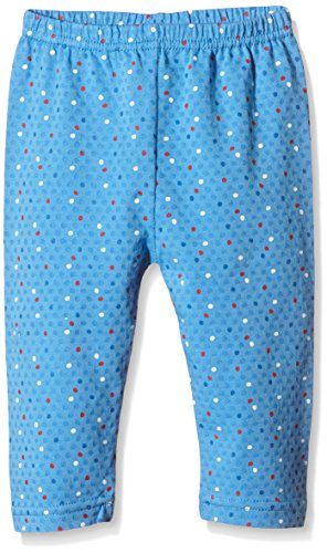 Die Lieben Sieben by Salt & Pepper Baby - Mädchen Legging 63715247, All over print, Gr. 68, Blau (sea blue 459)