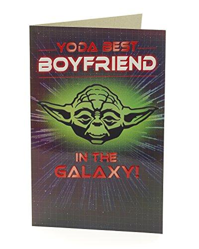 Carlton 488439-0Star Wars Yoda Boyfriend Karte