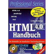 HTML 4.0 Handbuch, m. CD-ROM