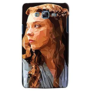 ColourCrust Samsung Galaxy J5 Mobile Phone Back Cover With Low Poly Art - Durable Matte Finish Hard Plastic Slim Case