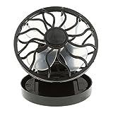 MagiDeal Tragbar Mini-Solar-Fan Sonnenenergie Hand Ventilator für Angeln Camping Wandern