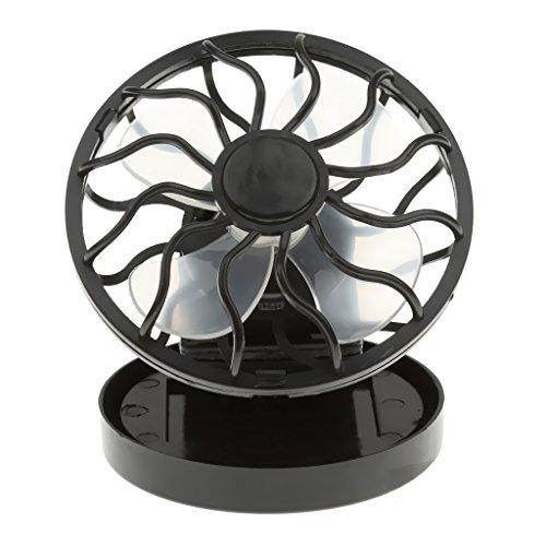 El Mini Clip-en Ventilador De Células Solares Panel De Energía De Energía...