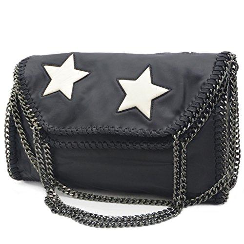 Handtasche Damentasche Tasche Umhängetasche Messenger Lederimitat LK9917