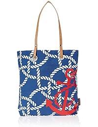 Kanvas Katha Women's Tote Bag (Navy Blue) (KKST/AMZ//01NB)