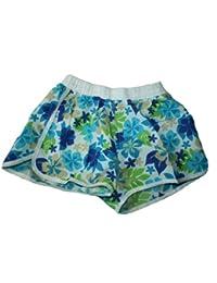 Damen Badeshorts viele VERSCHIEDENE FARBEN. Hot Pants, Hipster Blumenmuster 9.4.2 in den Größe S M L XL XXL