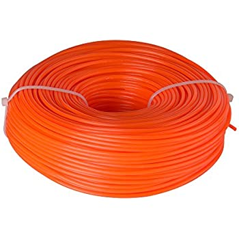Rotatech 15m x 1.6mm Strimmer Line Nylon Cord Wire Round String Petrol Trimmer