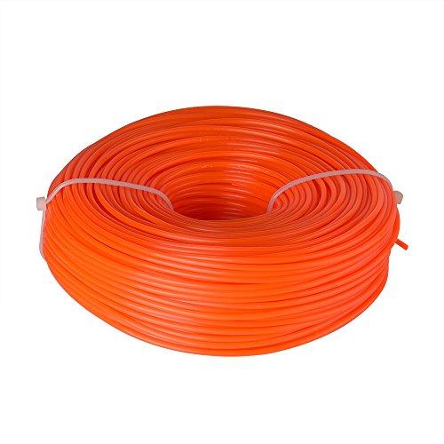 FEPITO - Fil pour débroussailleuse Nylon Ronde 2,4 mm x 96 m