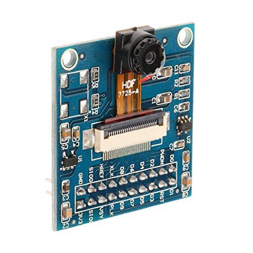Kamera-sensor-modul (Gazechimp Ov7725 Qvga Kameramodul Kamera Chip Einzel Bild Sensor Entwicklungsplatine Kamera Modul Für Arduino)
