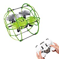 PDR 2.4GHZ Quadcopter 4-Channel Remote Control Drone Six-axis Gyroscope 360 Automatic Cruise Mode Climbing Wall Aircraft Model by PDR