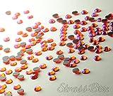 Strass Hotfix DMC Hyazinth AB SS16 pieza número a elegir brillantes Naranja, 1.000