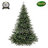 Künstlicher Spritzguss Weihnachtsbaum 180 cm Nobilistanne OXBURGH Edeltanne Kunsttanne Spritzgusstanne Hallerts Plastip
