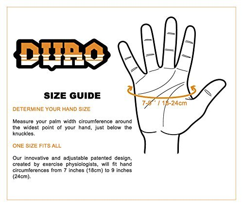 DURO-Pads-Weight-Lifting-Gloves-with-Extra-Grip-and-Protection-for-Cross-Training-Pull-Ups-Gym-WOD-Workout-and-Fitness-Great-for-Men-and-Women-Orange