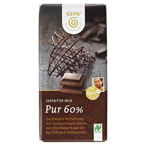 Gepa Bio Zartbitter mild 60%, 100g