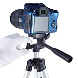 #9: FreshDcart Portable Tripod Camera Stand with Clip Holder for Photo Shooting and Recording with DSLR Cameras Outdoor Travel