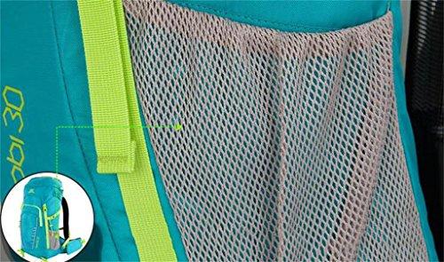 modelli maschili e femminili escursione esterne impermeabile borsa sportiva borsa a tracolla escursioni 30L ( Colore : Nero , dimensioni : 30L ) Blu