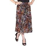 Cotton Breeze Women's A-line Skirt (Mult...
