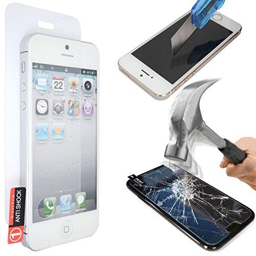 GAPlus® - Custodia sottile a portafoglio in pelle con scomparti per carte di credito per iPhone Apple, con pellicola salvaschermo, panno lucidante e penna in omaggio, Nero portafoglio, Apple iPhone 5  Apple iPhone 6 Plus (5.5)
