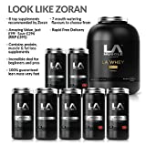 LA Muscle Look Like Zoran Ultimate Muscle Building Stack Save £296: 8 High Performing Pharma Grade Supplements To Build Muscle & Loose Fat Get Big, Get Muscular. You will see the Difference or Your Money back. Amazon Special Order Now before it's too late!! RRP £395 Buy Now Before Prices Go Up!!! (Vanilla)