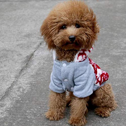 (Bcrbcr33 Halloween-Kostüm-Haustierkleidungs-Piratenkleidung Kleiden Oben Kostümkleid-Parteikostüme Ostern-Hundekatzenkleid-Schönheitskleidung,M)
