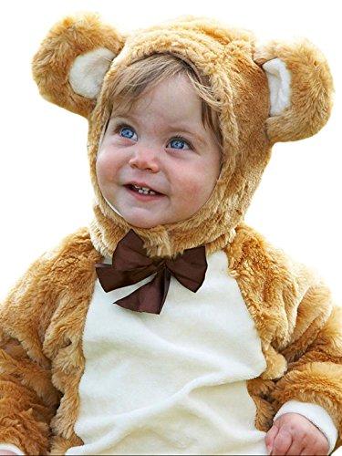 Und The Pooh Kostüme Ferkel Tigger Winnie (erdbeerloft - Baby Bärchen Kostüm Teddy Bärenkostüm Karneval , Mehrfarbig, Größe 92-98, 2-3)