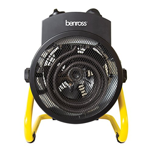 This Benross 3000W Industrial Fan Space Heater is such a powerful thing that makes a great choice for not only heating up a shed area but also spaces such as home office setups, workshops, gyms and garages.