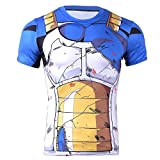 Anime Domain Dragonball Vegeta Camiseta (tamaño: L)