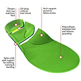 FootMatters Stabilizer Support Orthotic Insoles - Arch Support, Metatarsal and Heel Cradle Help Relieve Plantar Fasciitis & Other Foot Pain with Anti-Fatigue Technology - Medium UK Men 8-10.5 Women 9-11.5