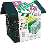 C & S Products Easy Fill Deluxe Suet Feeder with Roof