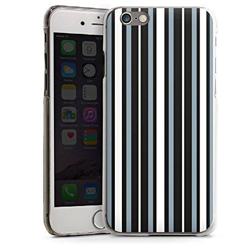 Apple iPhone 5s Housse Étui Protection Coque Bandes Tissu Motif CasDur transparent