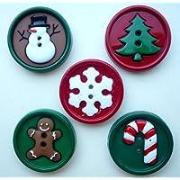 Christmas Craft Novelty Fun Sew & Bottoni decorativi Dress It Up by