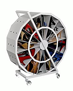 Spacetrick Shoe Rack (Off-White)