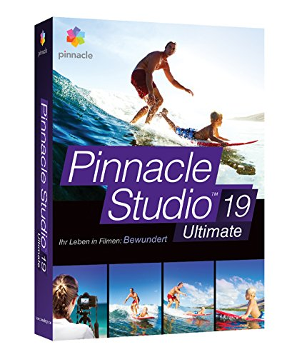 Corel Pinnacle Studio Ultimate v19/DE CD W32 (Video Studio Corel Ultimate)