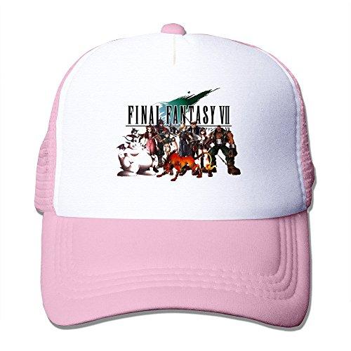 Bang da uomo Final Fantasy Vii poster Cappellino regolabile rosa Taglia unica