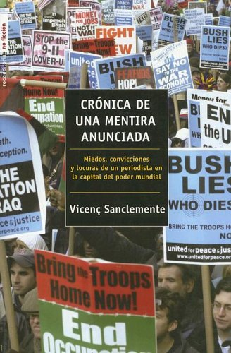 Cronica de una mentira anunciada por Vicenc Sanclemente