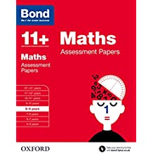 Bond 11+: Maths Assessment Papers: 8-9 years